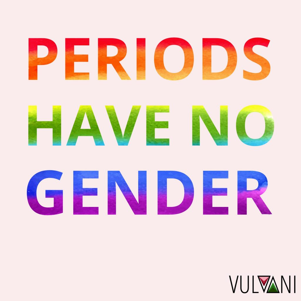 Periods have no gender