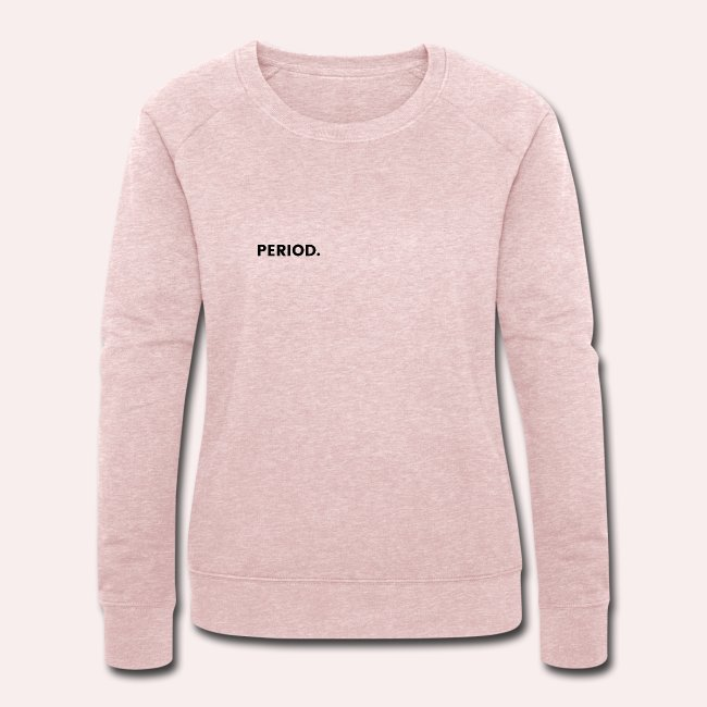 statement pullover menstruation